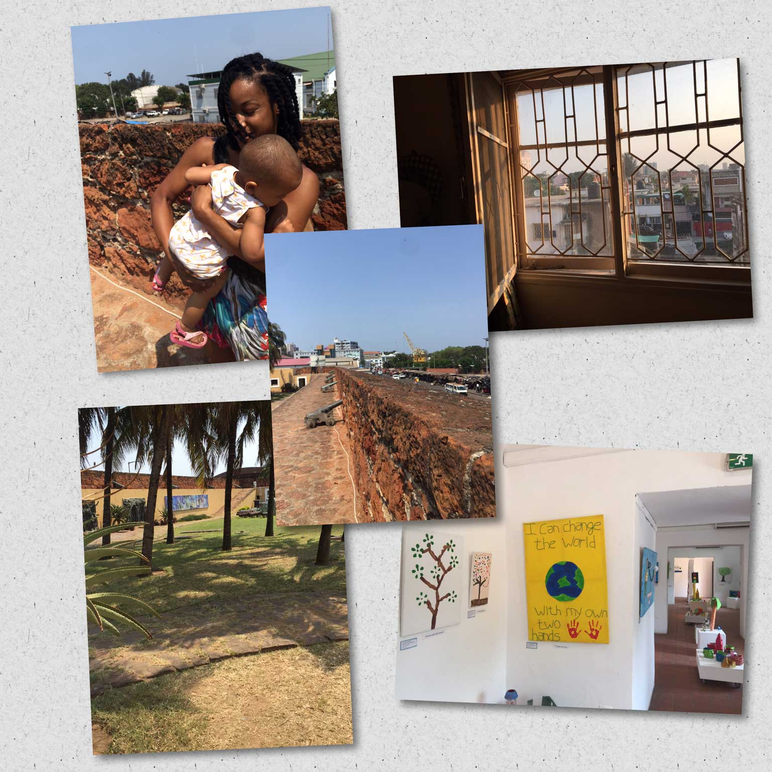 IPSD student, Dianna Jones' first day in Mozambique